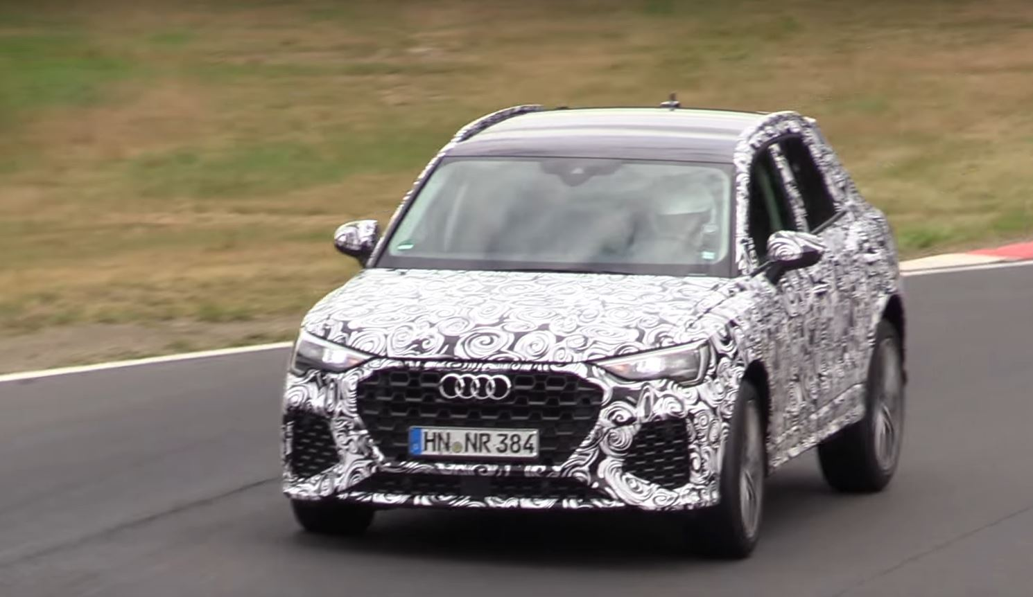 2020 Audi Rs Q3 With 2 5l Turbo Lets Loose At The Nurburgring
