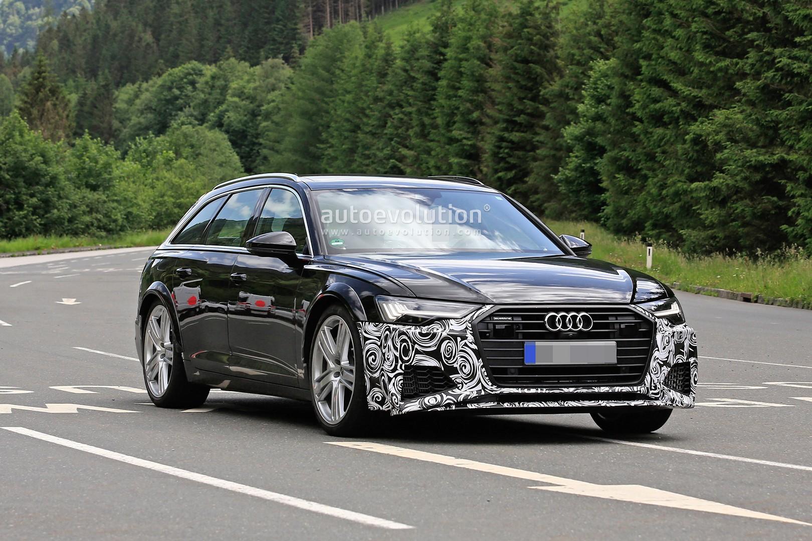 2020 Audi Rs6 Avant Makes Spy Photo Debut Autoevolution