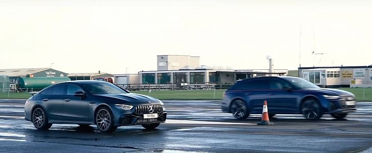 2020 Audi RS6 Drag Races Mercedes-AMG GT 63 S, Decimation Follows - autoevolution