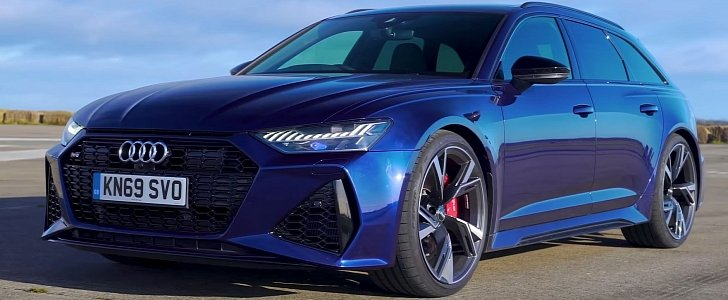 2020 Audi RS6 Gets Anihilated by BMW M5, AMG E63 and Panamera - autoevolution