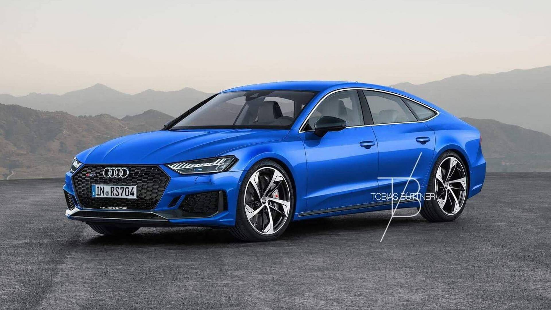 2020 Audi Rs7 Rendering Is Begging For 700 Hp Hybrid V8 Autoevolution