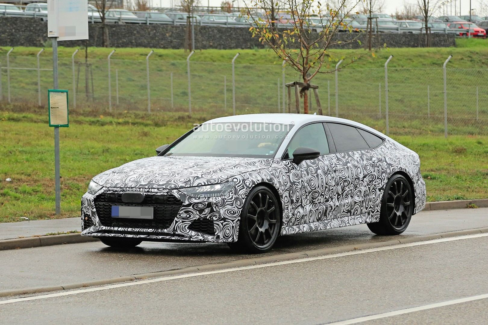 2020 Audi Rs7 Sportback Spied In Production Form As 700 Hp Hybrid