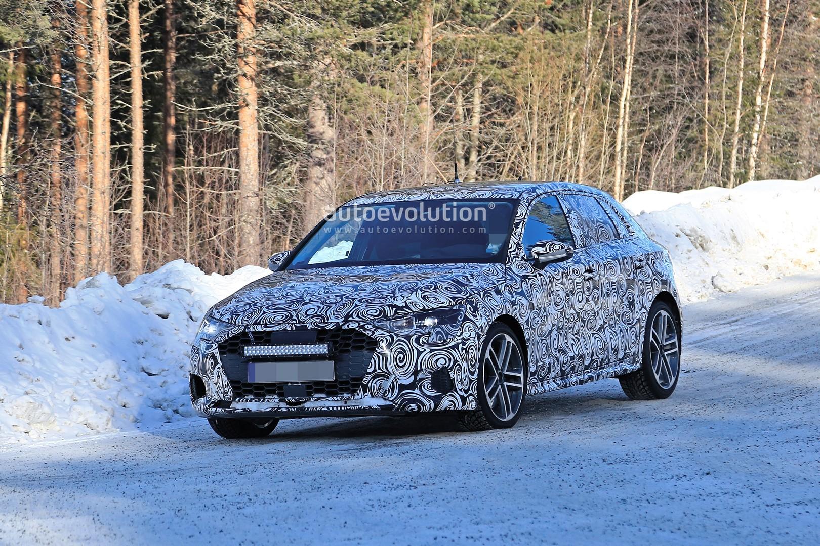 2020 Audi S3 Spied Winter Testing As Hybrid Rumors Persist