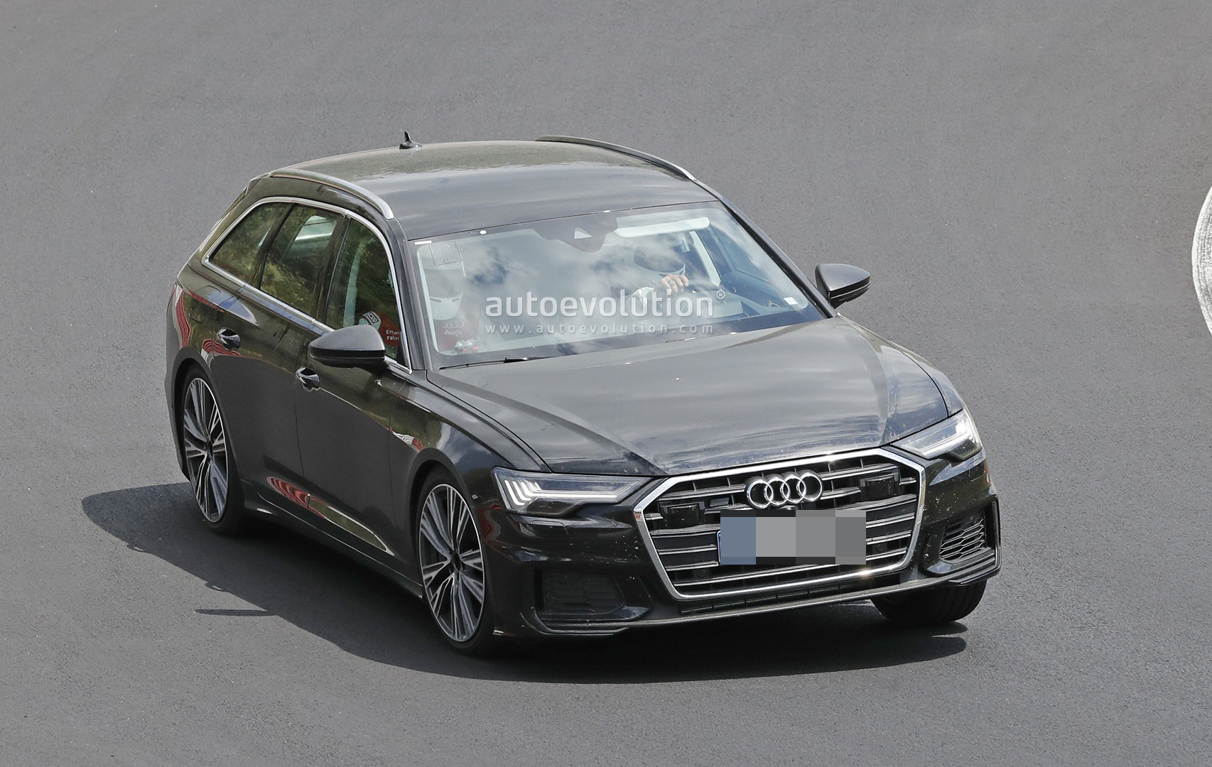 2020 Audi S6 Avant Leans Hard Into Corners At The Nurburgring