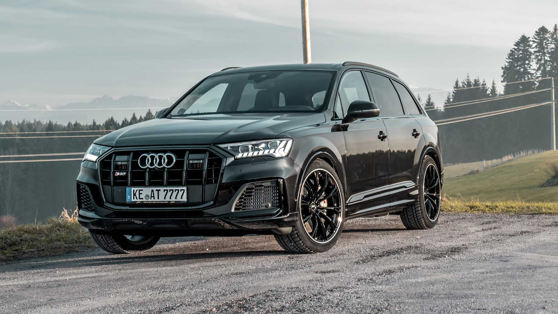 2020 Audi Sq7 Abt Tuned To 510 Ps Widebody Kit Under Development Autoevolution