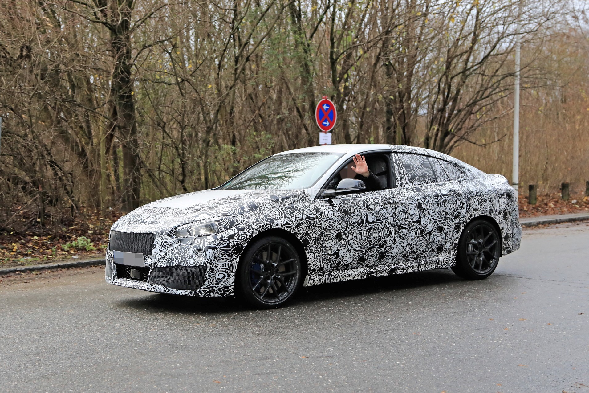 2020 Bmw 2 Series Gran Coupe F44 Spied Comes With Fwd And Awd