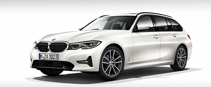 2020 Bmw 3 Series Wagon And Gran Turismo Accurately Rendered Autoevolution