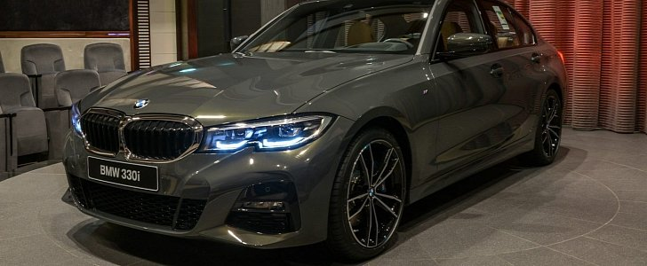 2020 Bmw 330i Shows Off Dravite Grey Metallic And M Sport
