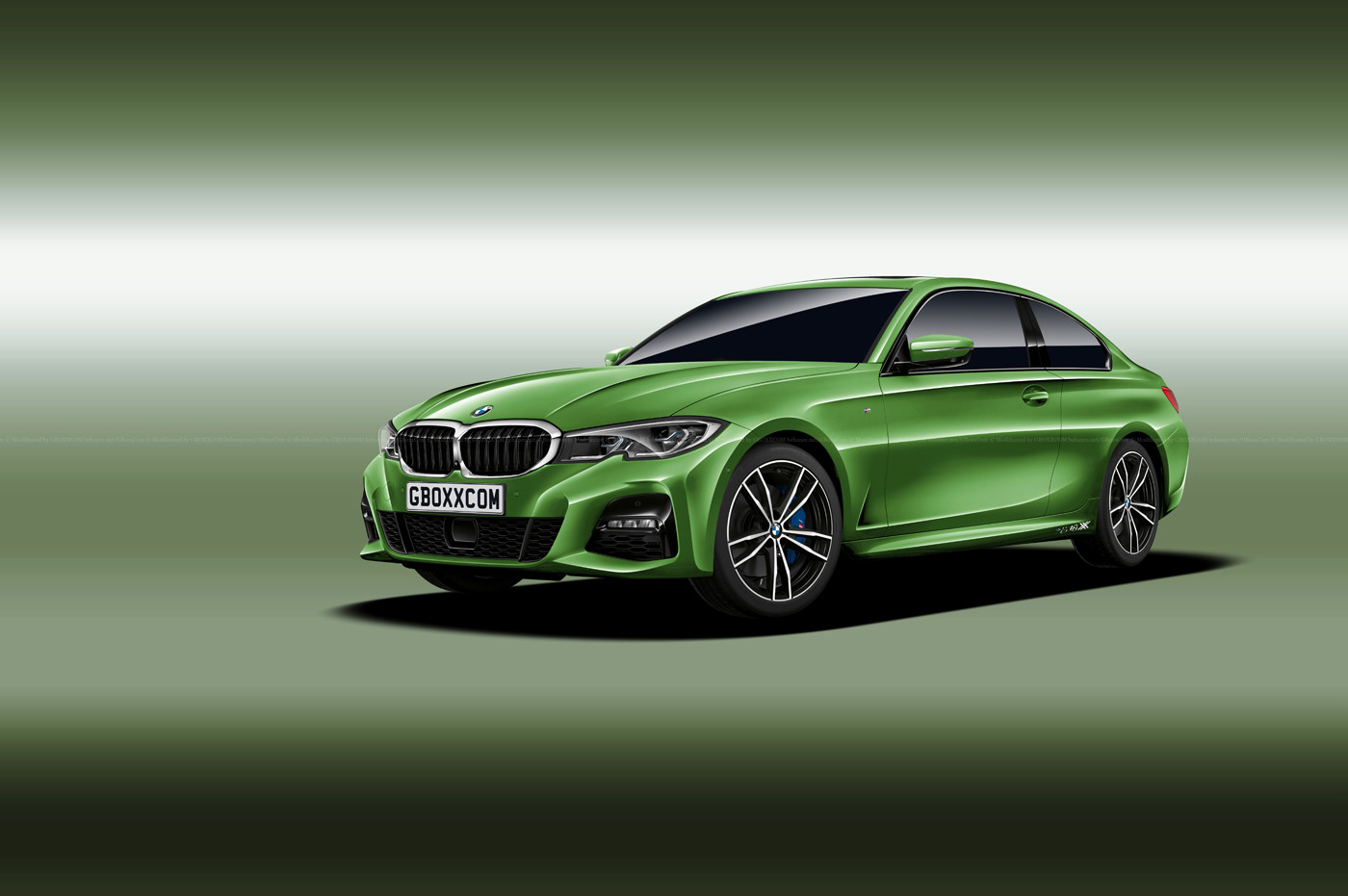 2020 bmw 4 series previewed by masterful rendering autoevolution. Black Bedroom Furniture Sets. Home Design Ideas