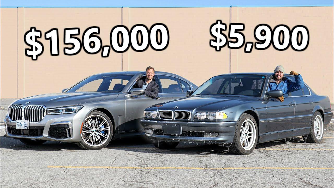 2020 Bmw 7 Series Compared To Classic E38 Costs 26 Times More Autoevolution