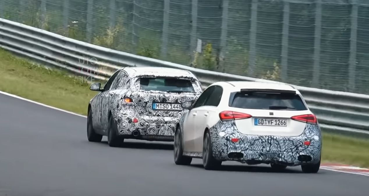 2020 Bmw M140i Successor Chased By New A45 At The Nurburgring