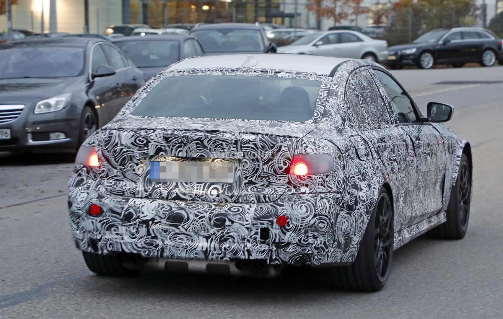 2020 Bmw M3 G80 Spied For The First Time M Xdrive Awd Rumors