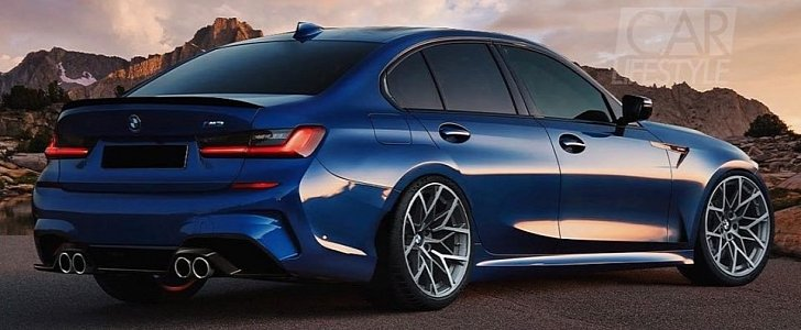 2020 bmw m3 rendered  awd rumors are strong