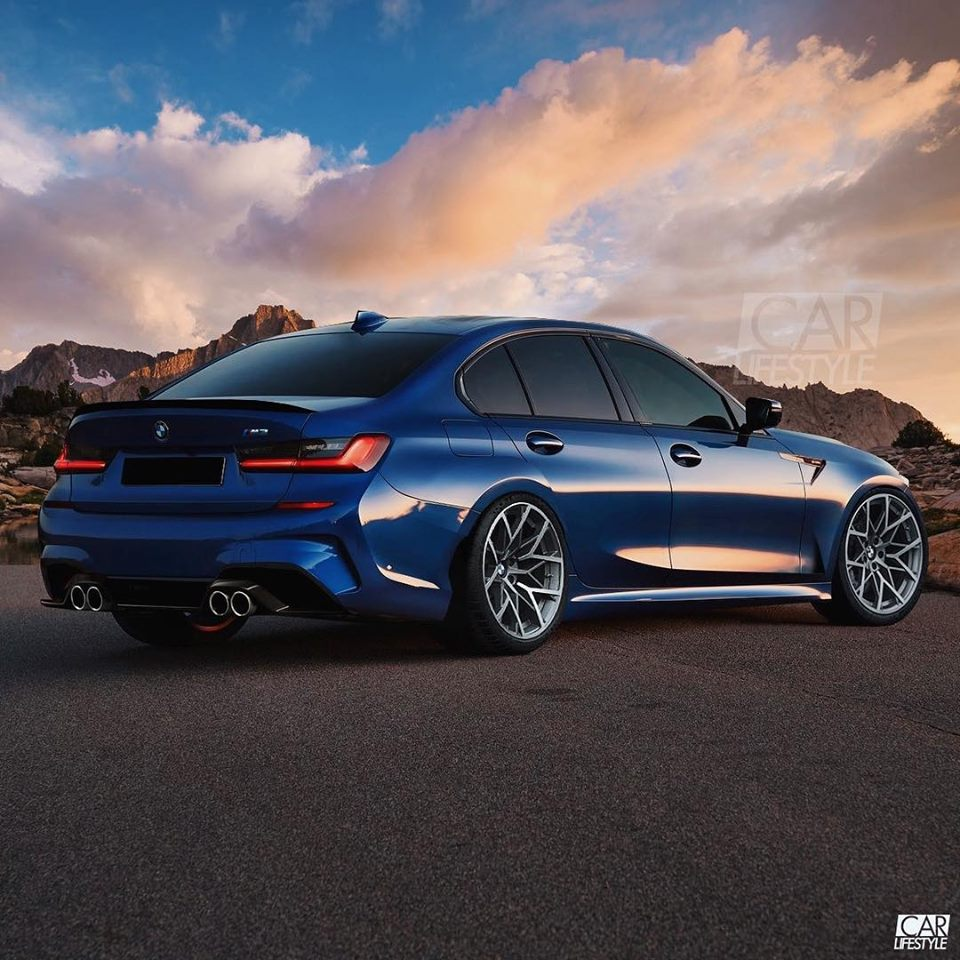 Bmw M3: 2020 BMW M3 Rendered, AWD Rumors Are Strong