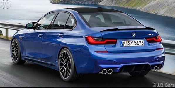 2020 Bmw M3 Rendered Based On New 3 Series Looks Legit Autoevolution