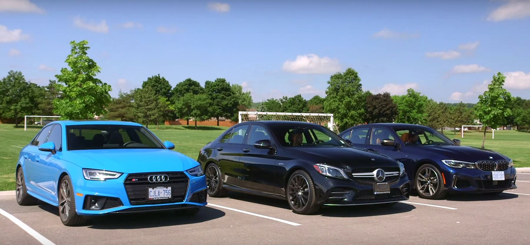 2020 Bmw M340i Takes On Audi S4 And Mercedes C43 Amg In Comparison