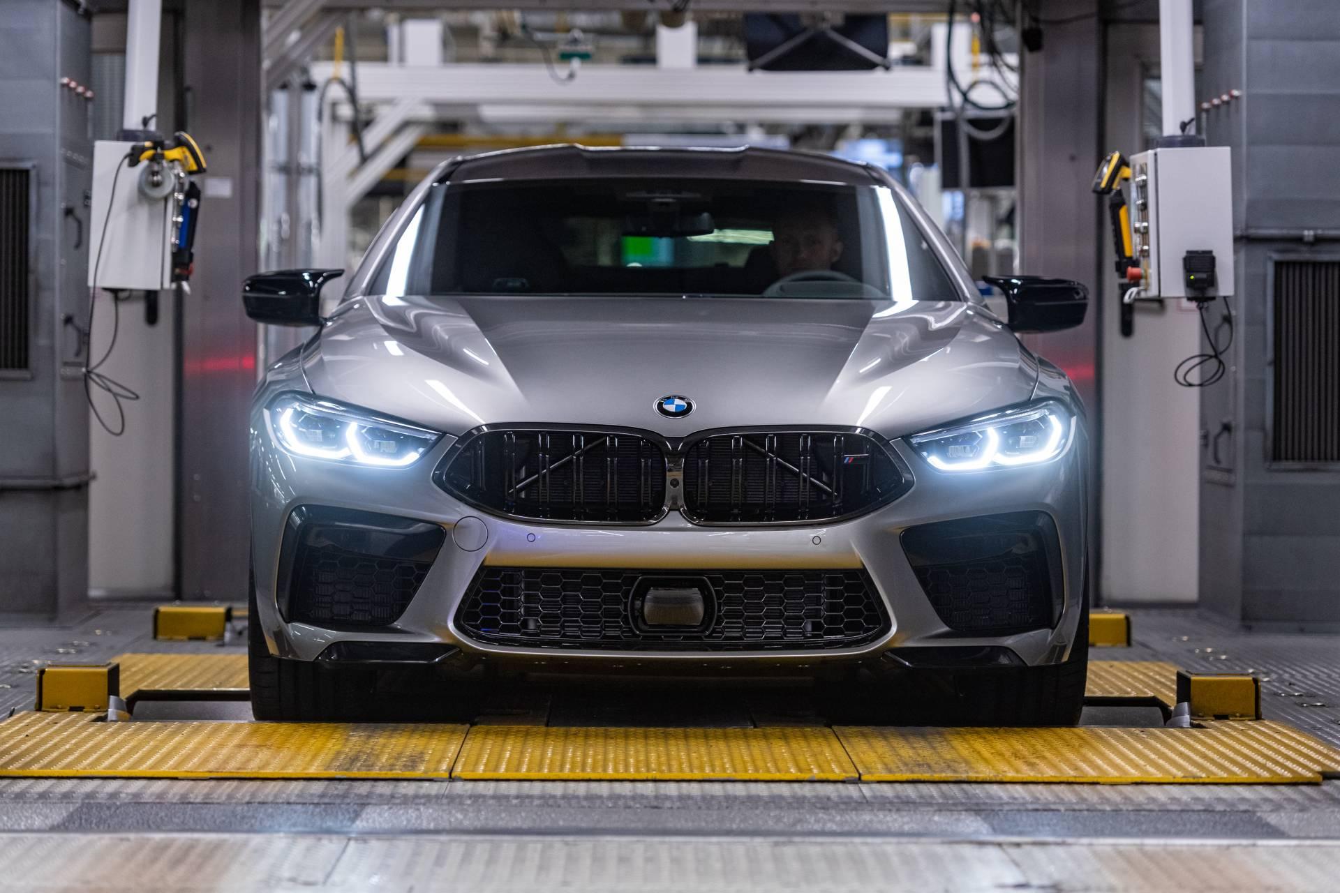 Car Show 2020.2020 Bmw M8 Gran Coupe Enters Production Ahead Of La Auto