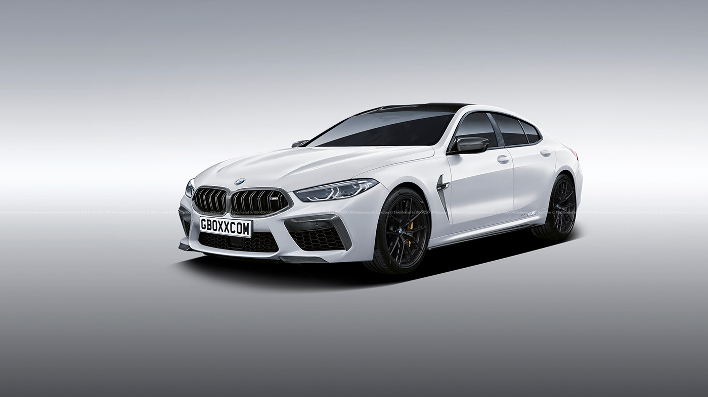 2020 Bmw M8 Gran Coupe Rendering Looks Ready For Production Autoevolution
