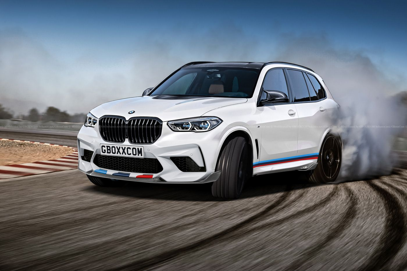 2020 bmw x5 m already rendered autoevolution. Black Bedroom Furniture Sets. Home Design Ideas