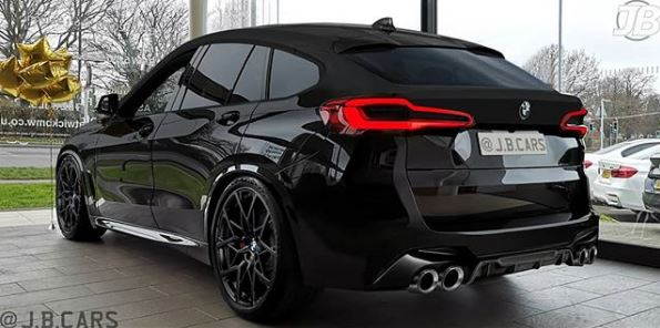 2020 Bmw X6 M Competition Rendered Looks Really Big Autoevolution