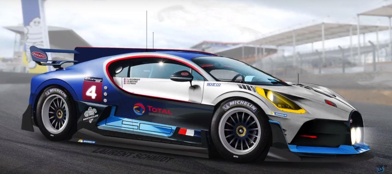 Pagani Huayra 2019 >> 2020 Bugatti Divo Le Mans Hypercar Class Racecar Rendering Looks Legit - autoevolution
