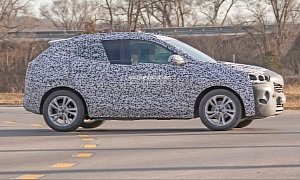 2020 Buick Encore Spied Testing In the U.S.
