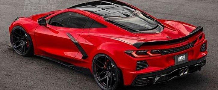 2020 chevrolet corvette c8 z06 rendered has sculpted widebody autoevolution 2020 chevrolet corvette c8 z06 rendered