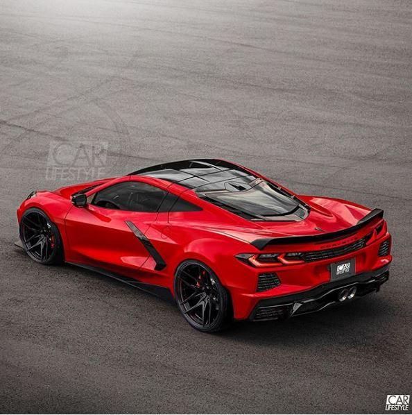 2020 Chevrolet Corvette C8 Z06 Rendered Has Sculpted Widebody