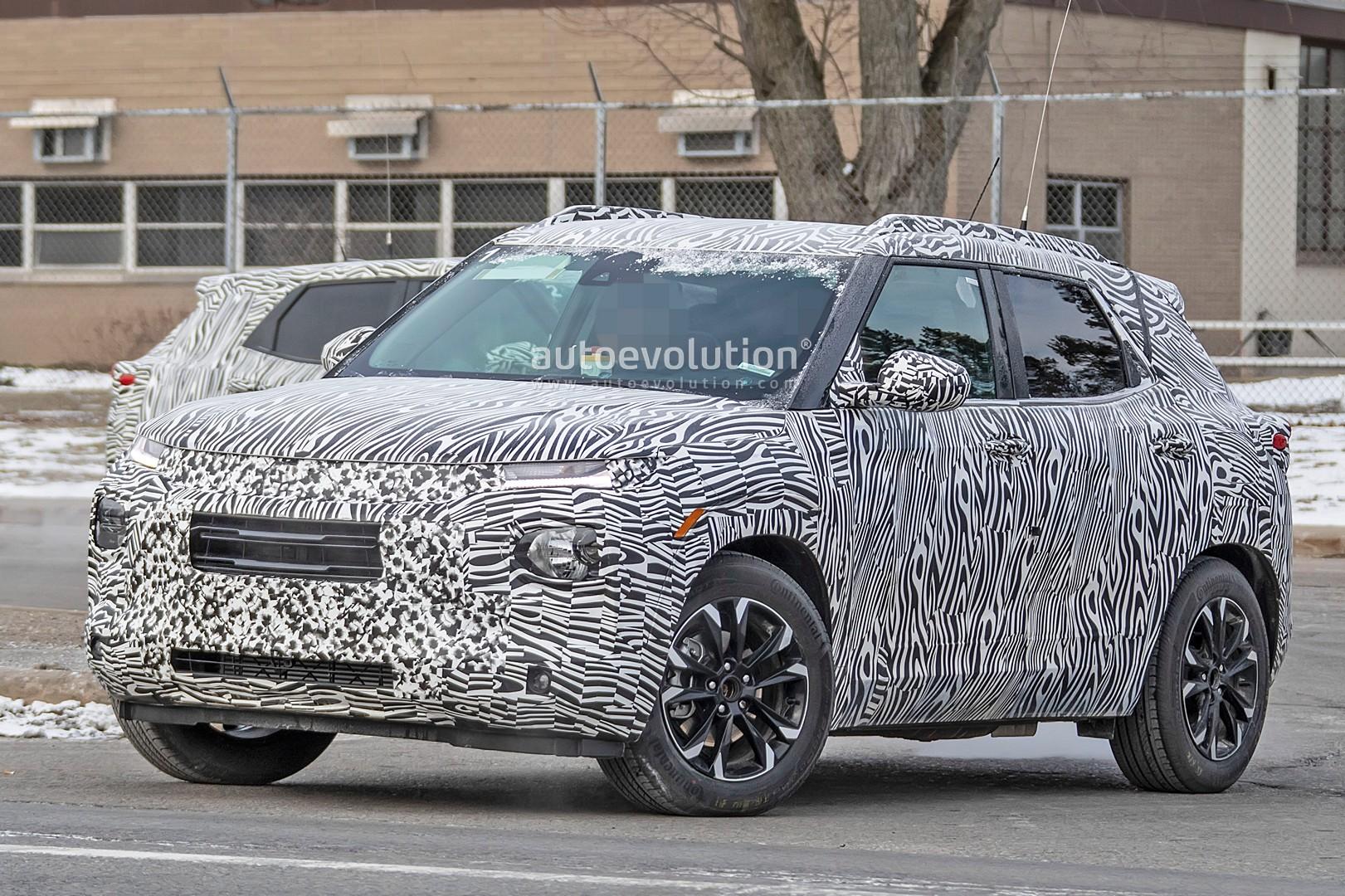 New Blazer SUV Inspires 2020 Chevy Trax >> 2020 Chevy Trax Spied With Blazer Like Looks Autoevolution