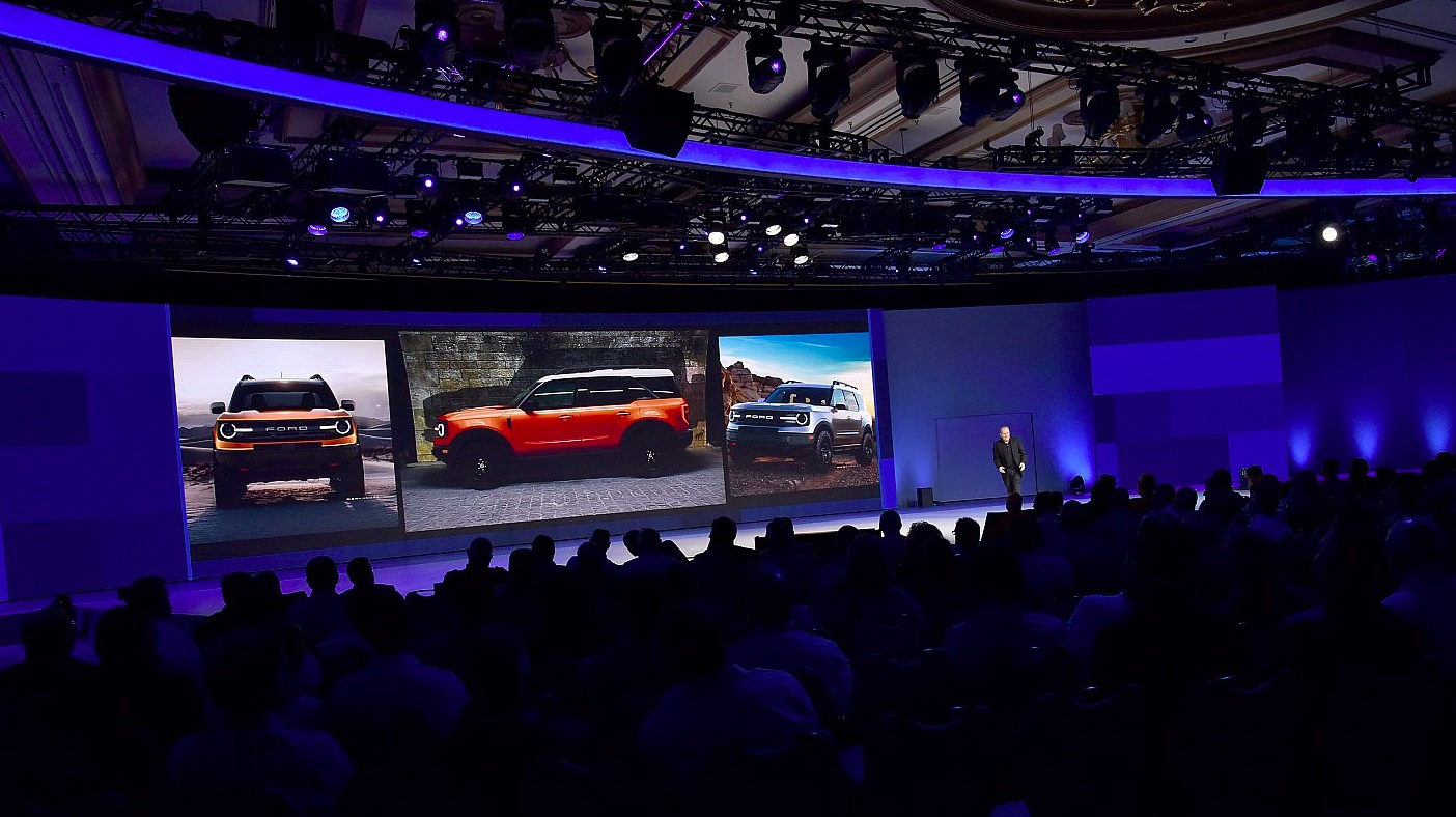 Used Ford Raptor >> New Ford Baby Bronco Teased At Dealer Meeting - autoevolution