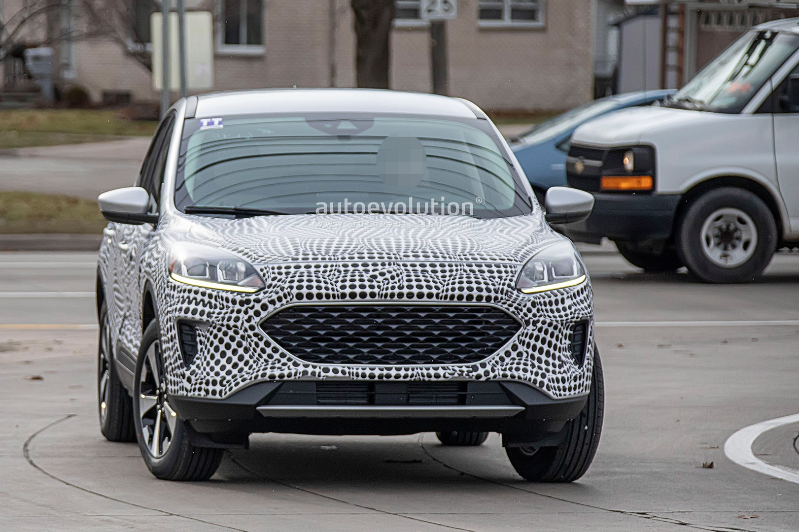 2020 Ford Escape Spy Photos, Pictures, Interior >> 2020 Ford Escape Kuga Spied With Production Body Is A