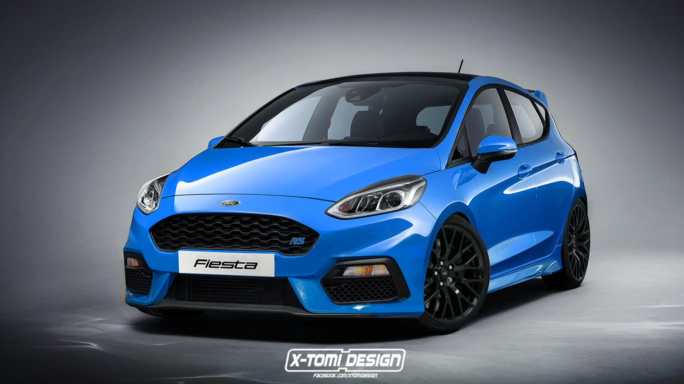 "2020 Ford Fiesta RS Probably Confirmed By ""Broad Grin"" - autoevolution"