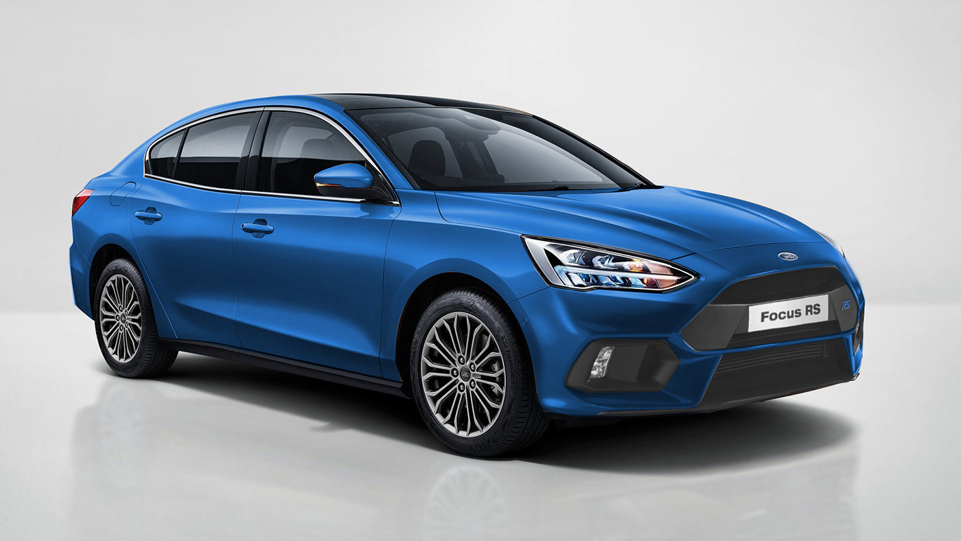 2020 Ford Focus Rs Imagined In Hatchback Sedan Station