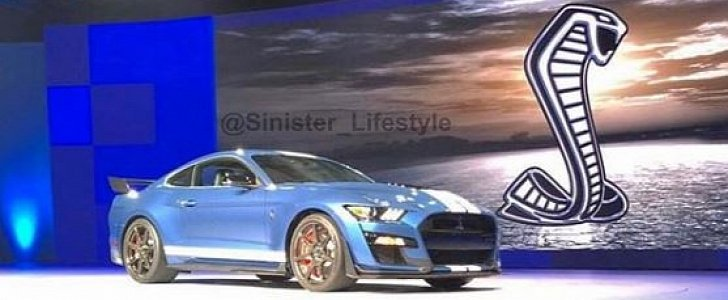 2020 Ford Mustang Shelby Gt500 Leaked Sparks A Debate Autoevolution
