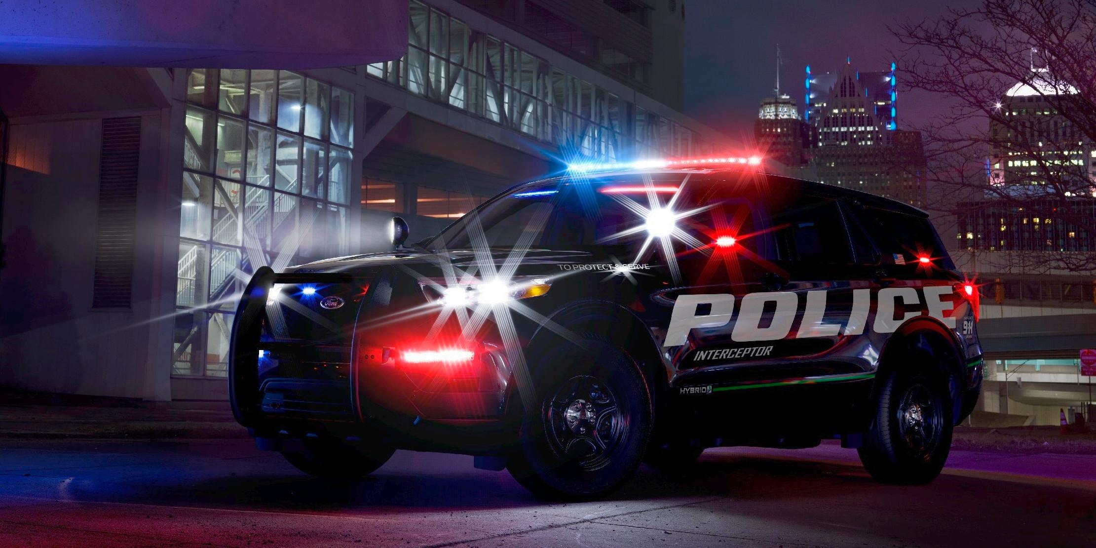 2020 Ford Police Interceptor Utility Previews New Explorer SUV - autoevolution