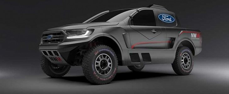 2020 Ford Ranger Raptor Gets Twin-Turbo V6 Engine, Will Race In South Africa - autoevolution