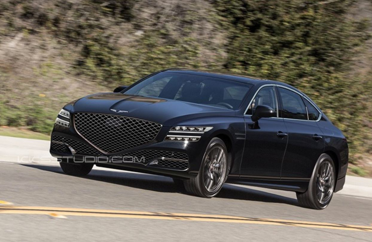 2020 Genesis G80 Sport Review.2020 Genesis G80 Could Look Like This Autoevolution
