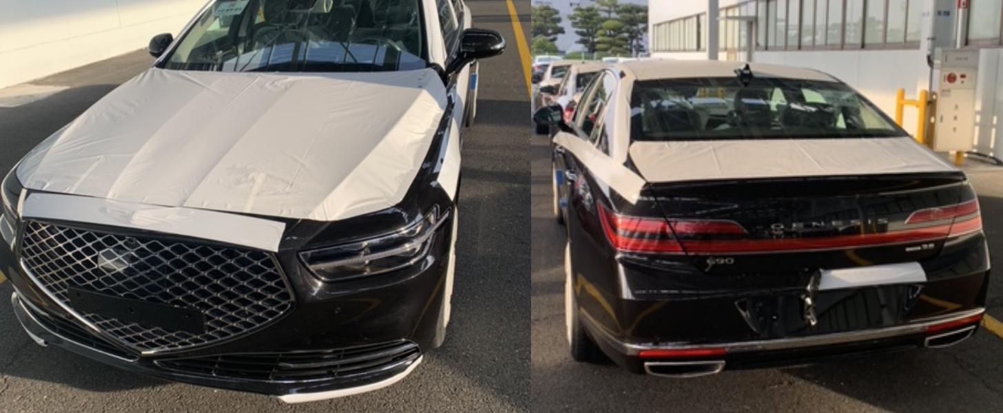 Korea Car Model >> 2020 Genesis G90 Caught Almost Undisguised In South Korea - autoevolution