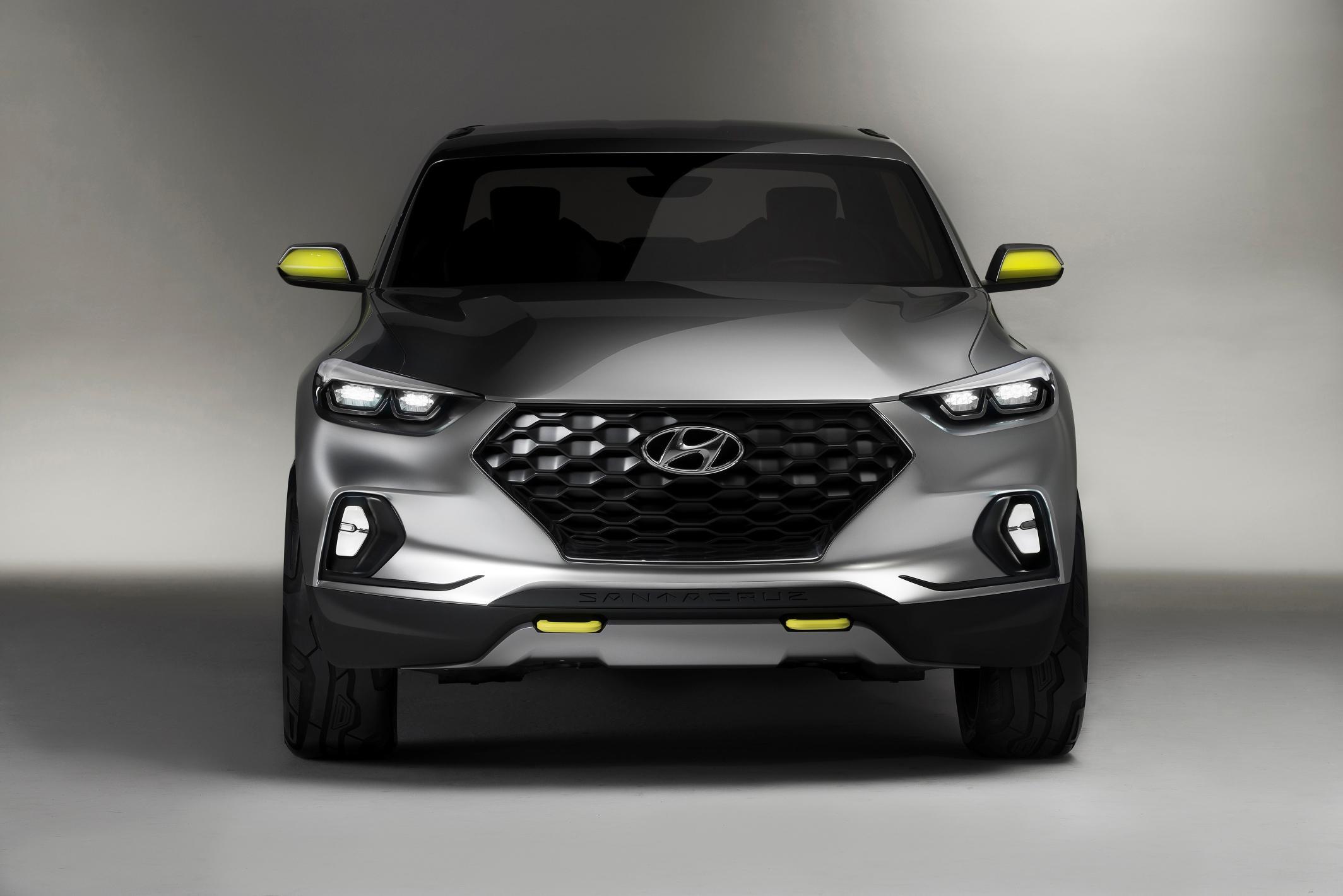 2020 Hyundai Mid Size Pickup Tt V6 Version To Take On 2019 Ford