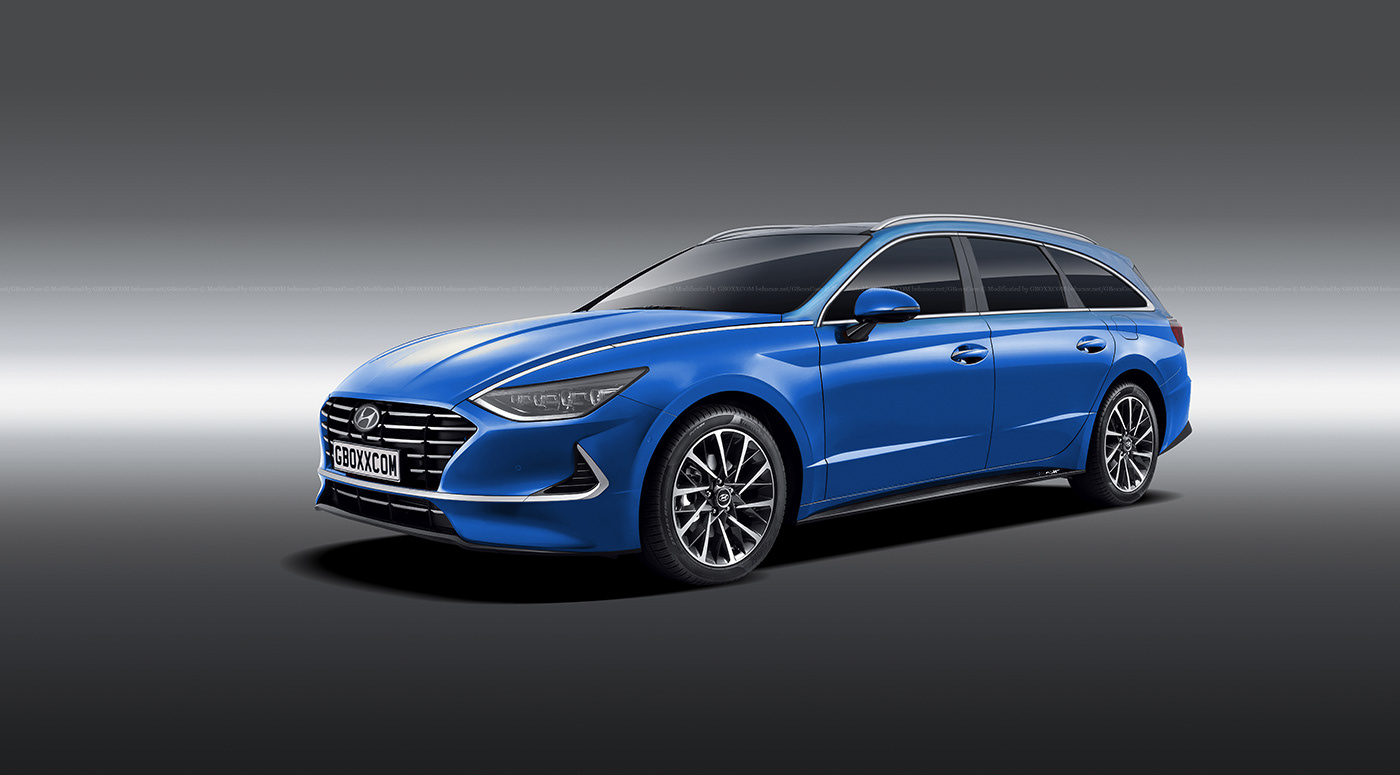 2020 Hyundai Sonata Wagon Is Coming Cabrio Rendering Looks Like A