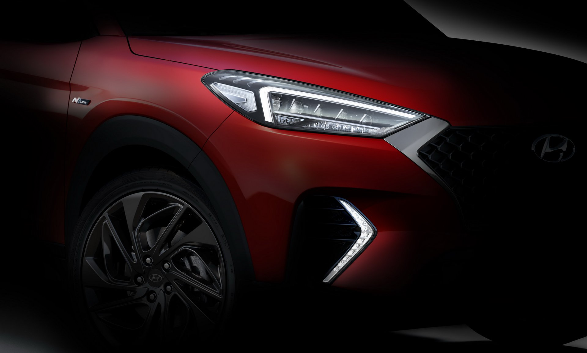 2020 Hyundai Tucson N Line Teased Available With Mild Hybrid Turbo