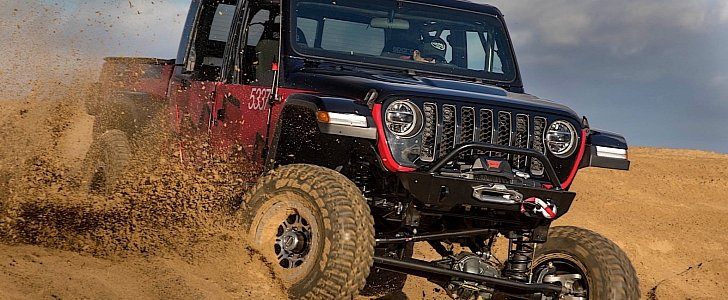 2020 Jeep Gladiator Goes for the Win in King of the Hammers Off-Road Race - autoevolution