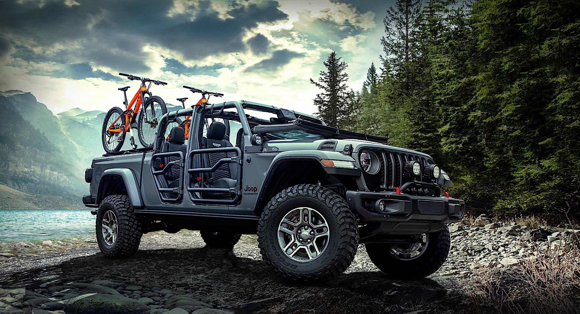 2020 Jeep Gladiator Weaponized by Mopar in Los Angeles ...