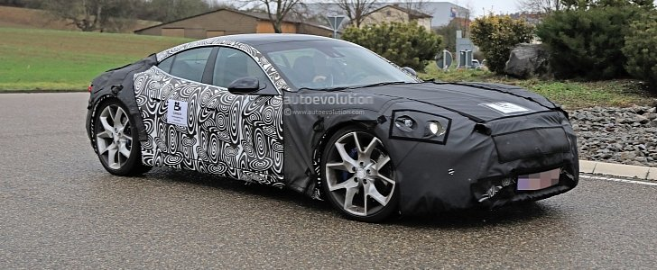 2020 Karma Revero Spied In Germany Clad In Camouflage