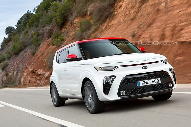 Kia K9 Price >> 2020 Kia Soul Rendered, Looks Sharp Without Tiger-Nose Grille - autoevolution