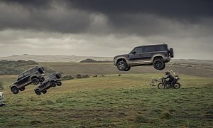 2020 Land Rover Defender Takes a Beating in 007 Ad – And Lives to Tell the Story