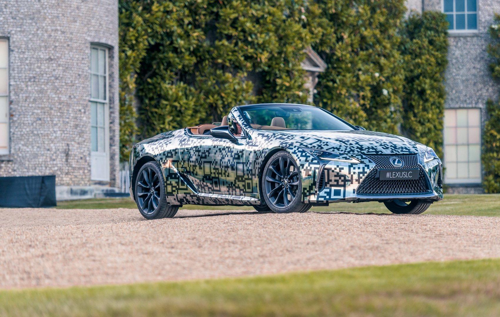 Gorgeous Lexus LC Convertible Prototype Debuts At Goodwood