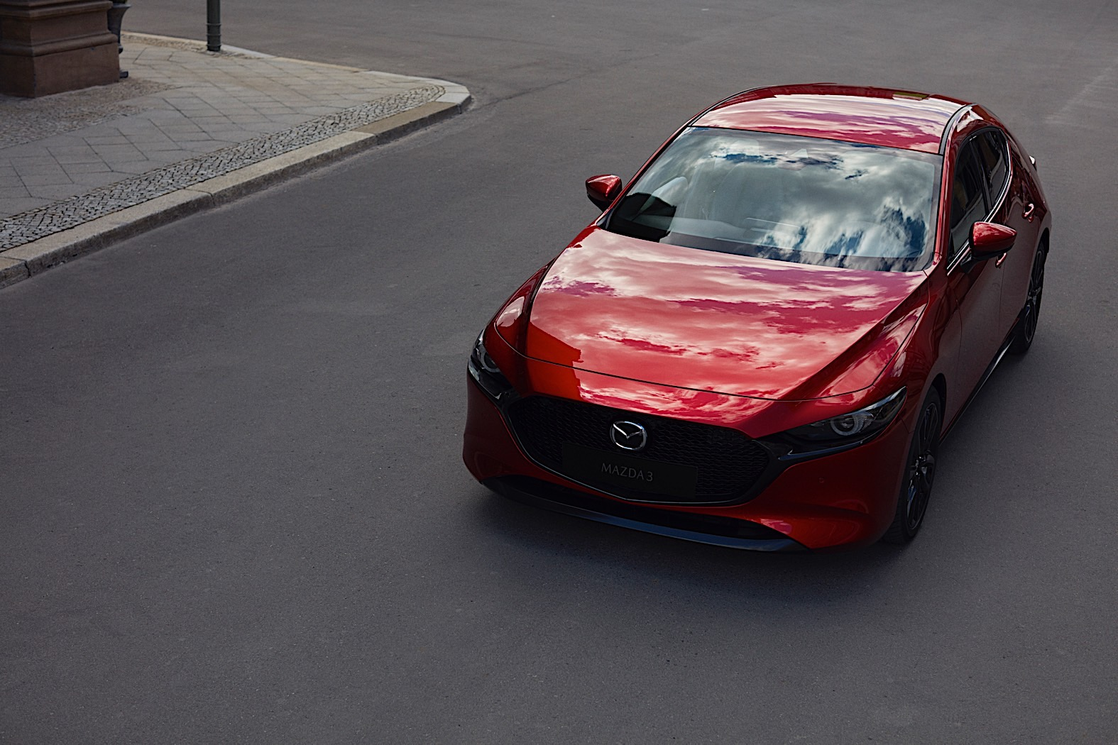 Fourth-generation Mazda 3 debuts in Los Angeles