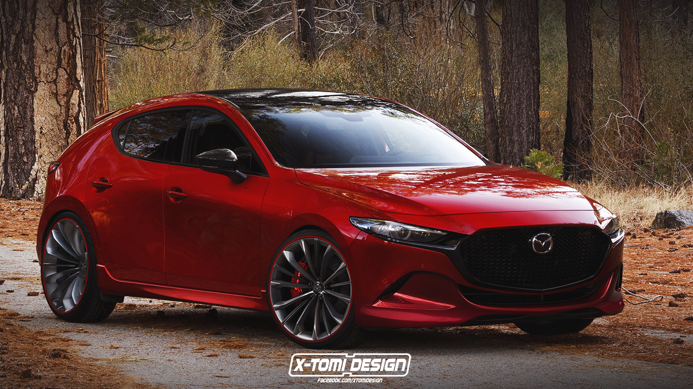 2020 Mazda3 Mps Mazdaspeed3 Rendering Is A Classy Hot Hatch