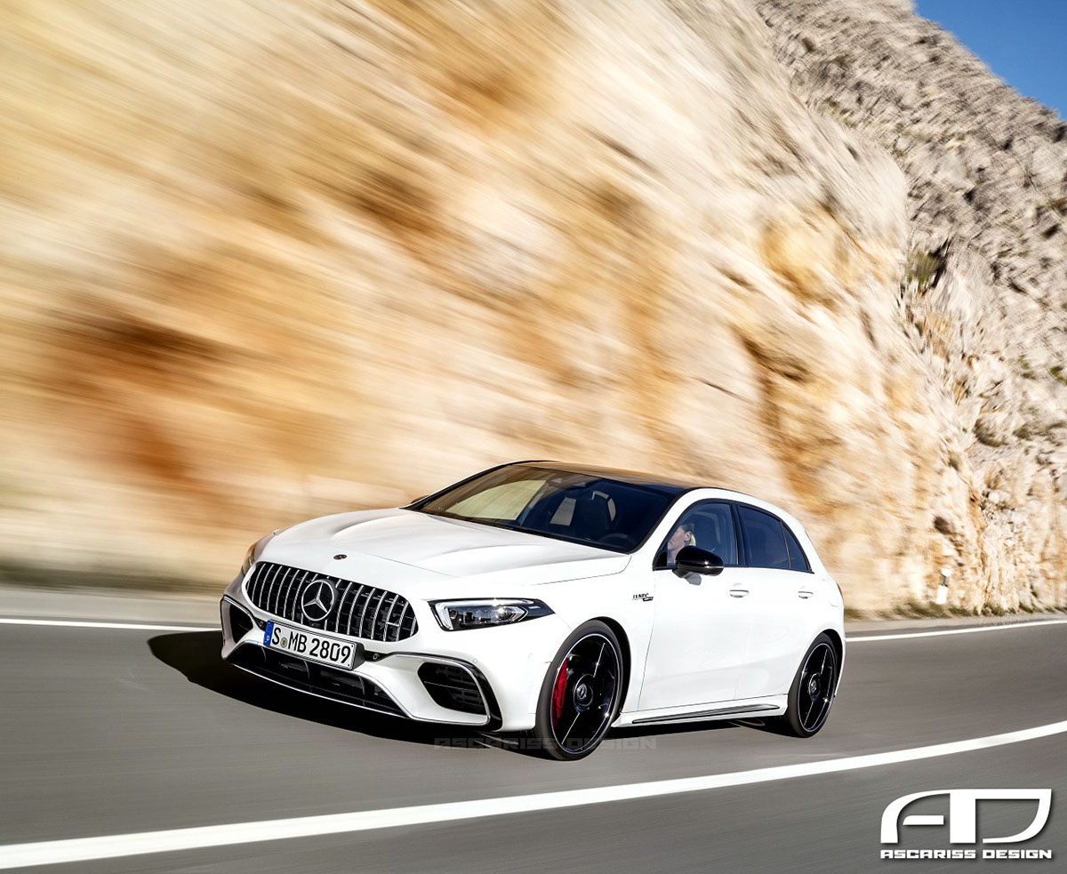 2019 mercedes amg a45 getting all new engine with 400 plus. Black Bedroom Furniture Sets. Home Design Ideas